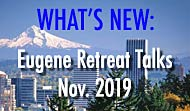 Eugene 2019 Talks